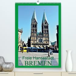 Freie Hansestadt BREMEN (Premium, hochwertiger DIN A2 Wandkalender 2020, Kunstdruck in Hochglanz) von Klünder,  Günther