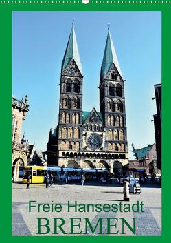Freie Hansestadt BREMEN (Wandkalender 2020 DIN A2 hoch) von Klünder,  Günther