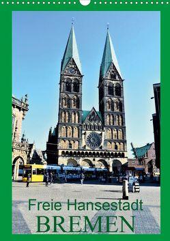 Freie Hansestadt BREMEN (Wandkalender 2020 DIN A3 hoch) von Klünder,  Günther
