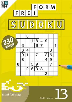 Freiform-Sudoku 13 Taschenbuch