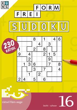 Freiform-Sudoku 16 Taschenbuch