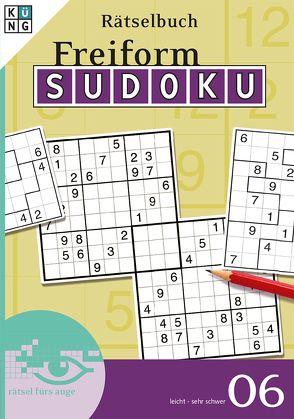 Freiform-Sudoku Rätselbuch 06