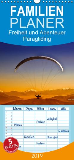 Freiheit und Abenteuer – Paragliding – Familienplaner hoch (Wandkalender 2019 , 21 cm x 45 cm, hoch) von Roder,  Peter