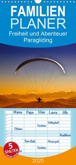 Freiheit und Abenteuer – Paragliding – Familienplaner hoch (Wandkalender 2020 , 21 cm x 45 cm, hoch) von Roder,  Peter