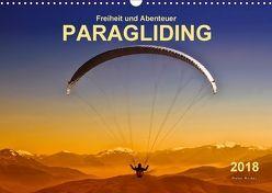 Freiheit und Abenteuer – Paragliding (Wandkalender 2018 DIN A3 quer) von Roder,  Peter