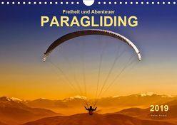 Freiheit und Abenteuer – Paragliding (Wandkalender 2019 DIN A4 quer) von Roder,  Peter