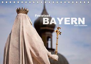 Freistaat Bayern (Tischkalender 2018 DIN A5 quer) von Schickert,  Peter