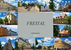 Freital Impressionen (Tischkalender 2019 DIN A5 quer) von Meutzner,  Dirk
