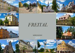 Freital Impressionen (Wandkalender 2019 DIN A2 quer) von Meutzner,  Dirk