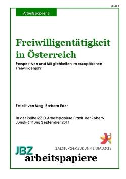 Freiwilligentätigkeit in Österreich von Augeneder,  Silvia, Eder,  Barbara, Lengauer,  Lukas, Mild,  Erich, Spielmann,  Walter