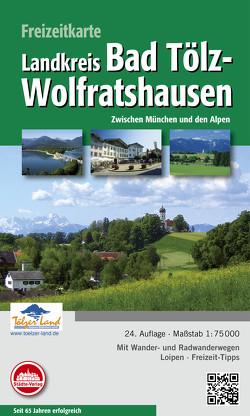 Freizeitkarte Bad Tölz-Wolfratshausen