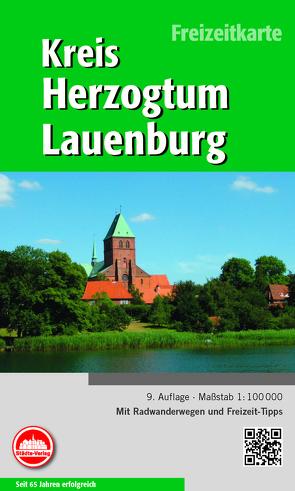 Freizeitkarte Herzogtum Lauenburg