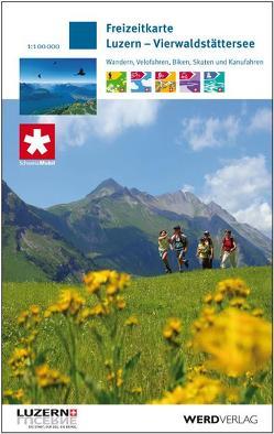 Freizeitkarte Luzern – Vierwaldstättersee von Luzern Tourismus