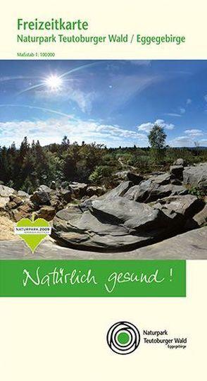 Freizeitkarte Naturpark Teutoburger Wald / Eggegebirge