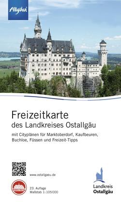 Freizeitkarte Ostallgäu