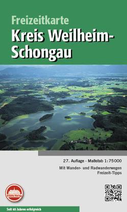 Freizeitkarte Weilheim-Schongau