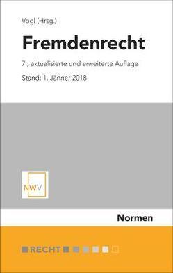 Fremdenrecht von Vogl,  Mathias