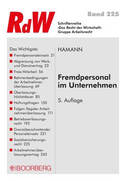 Fremdpersonal im Unternehmen von Hamann,  Wolfgang
