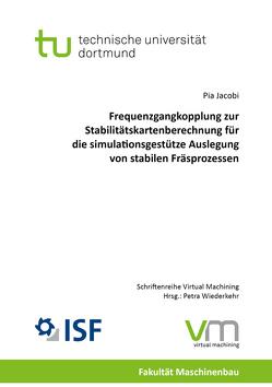 Frequenzgangkopplung zur Stabilitätskartenberechnung für die simulationsgestütze Auslegung von stabilen Fräsprozessen von Jacobi,  Pia