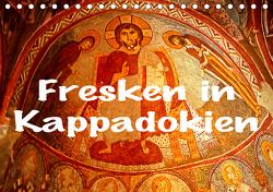 Fresken in Kappadokien (Tischkalender 2021 DIN A5 quer) von stegen,  joern