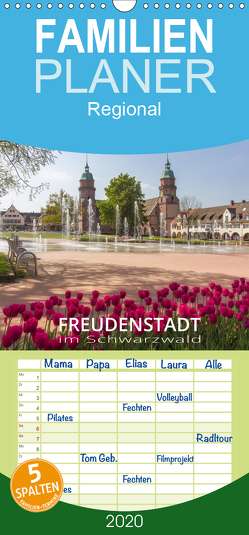 Freudenstadt im Schwarzwald – Wandkalender – Familienplaner hoch (Wandkalender 2020 , 21 cm x 45 cm, hoch) von Butschkus,  Heike