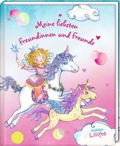 Freundebuch – Meine liebsten Freundinnen und Freunde (Prinzessin Lillifee) von Finsterbusch,  Monika