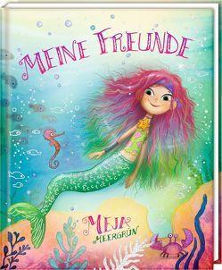 Freundebuch – Meja Meergrün – Meine Freunde von Lindström,  Erik Ole, Rauers,  Wiebke