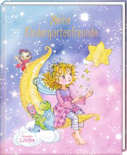 Freundebuch – Prinzessin Lillifee – Meine Kindergartenfreunde von Finsterbusch,  Monika