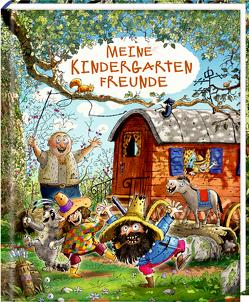 Freundebuch – Räuber Donnerpups – Meine Kindergartenfreunde von Kössler,  Walter