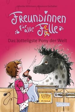 Freundinnen für alle Felle 2: Freundinnen für alle Felle – Das zotteligste Pony der Welt von Gerhaher,  Eleonore, Wittmann,  Monika