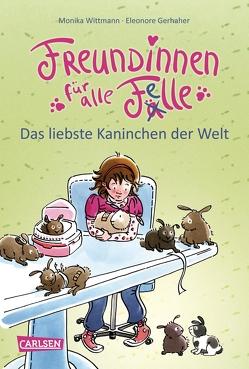 Freundinnen für alle Felle 3: Freundinnen für alle Felle – Das liebste Kaninchen der Welt von Gerhaher,  Eleonore, Wittmann,  Monika