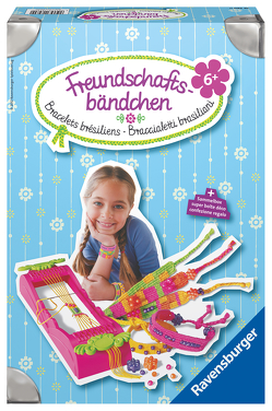 Ravensburger 18280 Freundschaftsbändchen – Freche Armbänder aus bunten Garnen weben, DIY für Kinder ab 6 Jahren