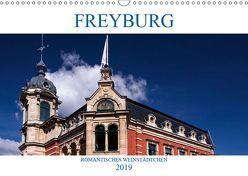 FREYBURG – Romantisches Weinstädtchen (Wandkalender 2019 DIN A3 quer) von boeTtchEr,  U