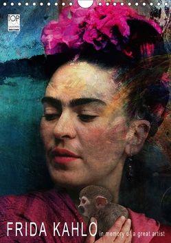 FRIDA KAHLO in memory of a great artist (Wandkalender 2018 DIN A4 hoch) von Fischer,  Harald