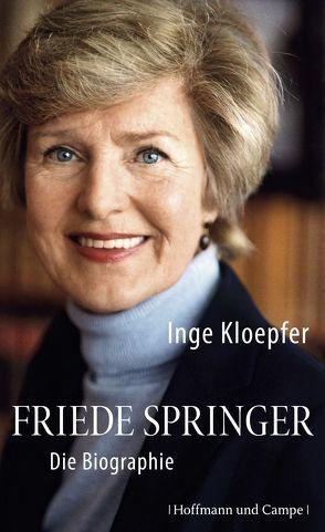 Friede Springer von Kloepfer,  Inge