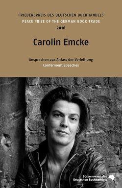 Carolin Emcke von Benhabib,  Seyla, Emcke,  Carolin