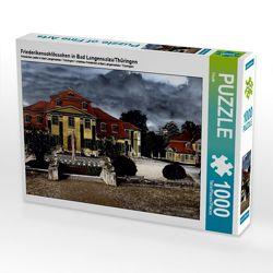 Friederikenschlösschen in Bad Langensalza/Thüringen 1000 Teile Puzzle quer von Flori0, k.A.