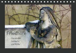Friedhöfe. Oasen der Andacht und Stille (Tischkalender 2019 DIN A5 quer) von Falk,  Dietmar