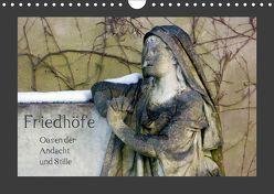 Friedhöfe. Oasen der Andacht und Stille (Wandkalender 2019 DIN A4 quer) von Falk,  Dietmar