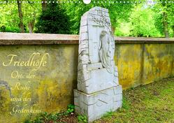 Friedhöfe – Orte der Ruhe und des Gedenkens (Wandkalender 2021 DIN A3 quer) von Hess,  Andrea