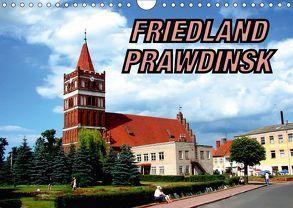 FRIEDLAND – PRAWDINSK (Wandkalender 2018 DIN A4 quer) von von Loewis of Menar,  Henning