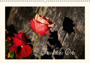 Friedliche Orte (Wandkalender 2018 DIN A3 quer) von Kruse,  Gisela