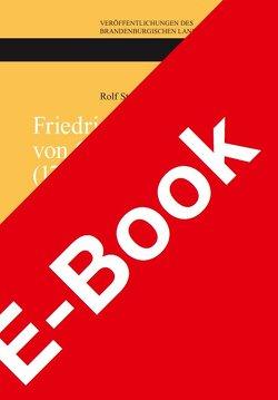 Friedrich Christoph von Goerne (1734 – 1817) von Straubel,  Rolf