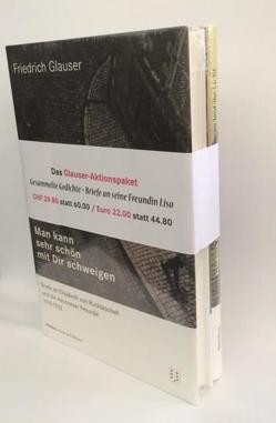 Friedrich Glauser Aktionspaket von Glauser,  Friedrich