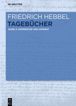 Friedrich Hebbel: Tagebücher / Kommentar und Apparat von Hebbel,  Friedrich, Ritzer,  Monika
