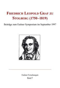 Friedrich Leopold Graf zu Stolberg (1750-1819) von Baudach,  Frank, Behrens,  Jürgen, Pott,  Ute