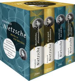 Friedrich Nietzsche – Werke in vier Bänden von Nietzsche,  Friedrich