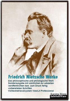 Friedrich Nietzsche – Werke. Sonderausgabe. Das philosophische und philologische Werk auf CD-ROM. von Nietzsche,  Friedrich, Prossliner,  Johann