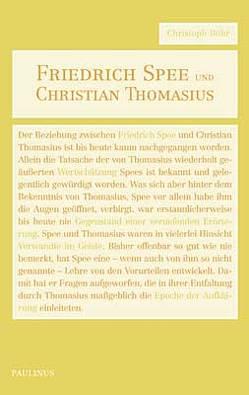 Friedrich Spee und Christian Thomasius von Böhr,  Christoph