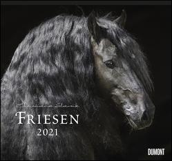 Friesen 2021 – Edle Pferde – Fotografiert von Christiane Slawik – DUMONT-Wandkalender – Format 38,0 x 35,5 cm von Slawik,  Christiane